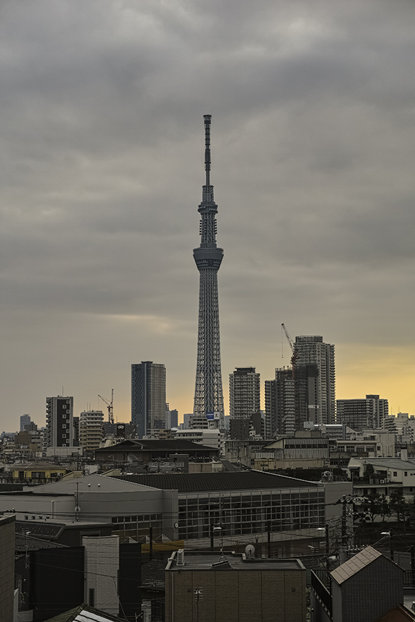 Tokyo skytree view from my office 2015 4 9nobiann