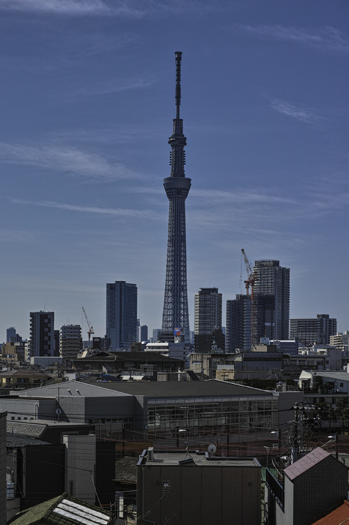 Tokyo skytree view from my office 2015 3 2 nobiann